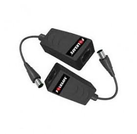 Комплект пасивен приемник и предавател за пренос на Ethernet/IP мрежов сигнал по коаксиален кабел FS-EOC7001