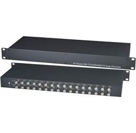 16-канална гръмозащита по коаксиален кабел SP016HD