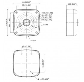 Разпределителна кутия водоустойчива PFA122-V2