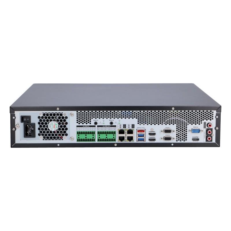 128 канален AI 4K алгоритмичен видео сървър/NVR с вградени интелигентни функции, IVSS7008-1I