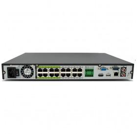 16 канален AI 4K мрежов рекордер с вградени интелигентни функции, NVR4216-16P-I