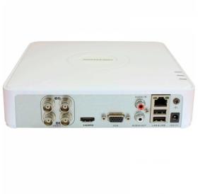 4-канален четирибриден HD-TVI/AHD/CVI цифров рекордер за видеонаблюдение
