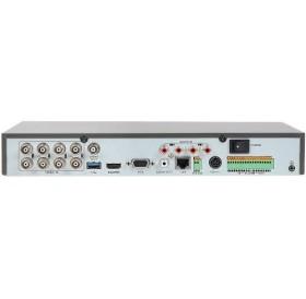 4-канален пентабриден HD-TVI/AHD/CVI/CVBS/IP цифров рекордер за видеонаблюдение с DEEP LEARNING алгоритъм за класификация на обекти и прецизна детекция