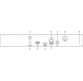 DS-7616NI-Q1 16-Канален мрежов рекордер/сървър