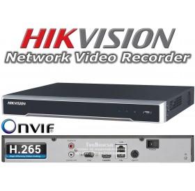 16-канален 4K мрежов рекордер/сървър за видеонаблюдение HIKVISION DS-7616NI-I2