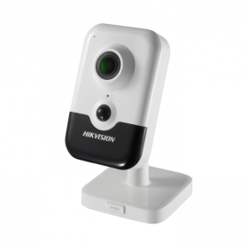 Безжична компактна IP камера за видеонаблюдение HIKVISION с вградено IR осветление и PIR детектор за движение