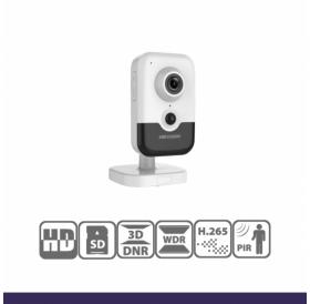 Безжична компактна IP камера за видеонаблюдение HIKVISION с резолюция 4 мегапиксела, IR до 10 m