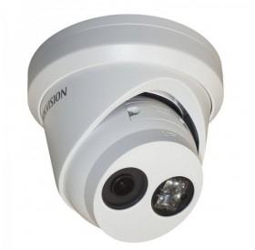 4.0 Мегапикселова куполна IP камера за Ден/Нощ видеонаблюдение HIKVISION, EXIR технология с обхват до 30 m