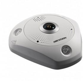 6.0 Мегапиксела панорамна 360° мегапикселова куполна IP камера HIKVISION с Deep Learning алгоритъм