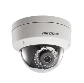 Куполна 2.0 мегапикселова H.265+ IP камера за видеонаблюдение HIKVISION с вградено IR осветление до 30 метра