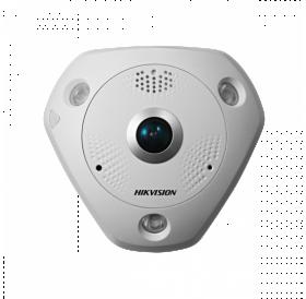 Панорамна 360° 6 мегапикселова куполна IP камера за видеонаблюдение HIKVISION