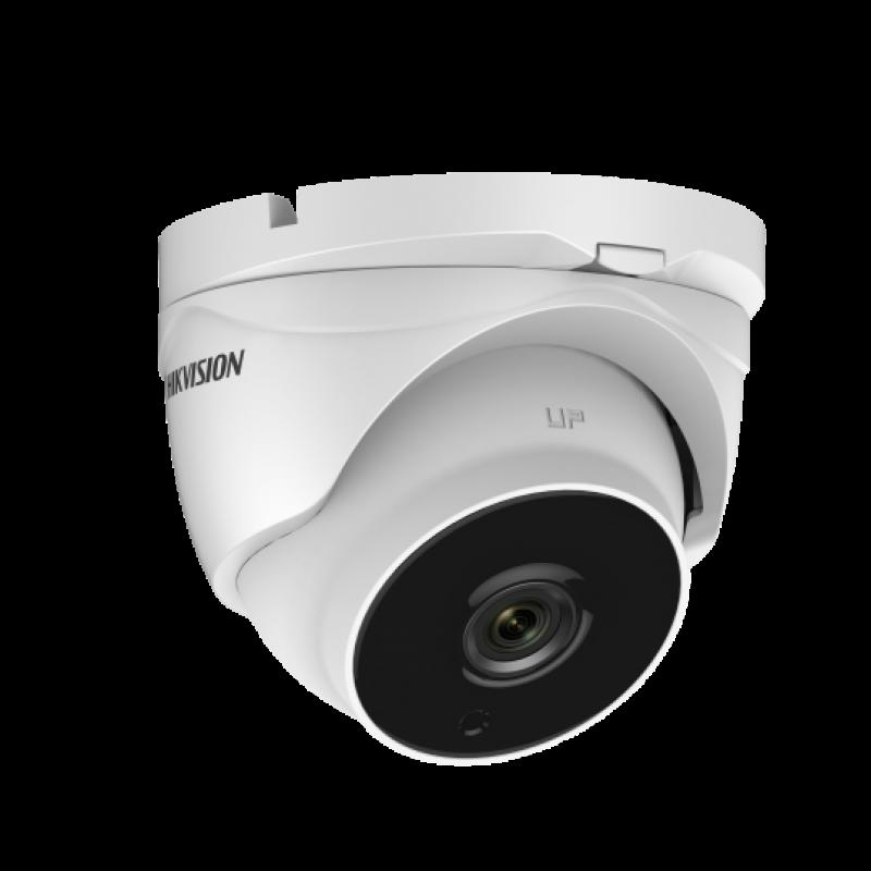 Куполна HD-TVI Ultra-Low Light камера за видеонаблюдение HIKVISION с резолюция 2 MP