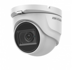 8 Мегапикселова HD-TVI куполна камера за видеонаблюдение HIKVISION 4 в 1