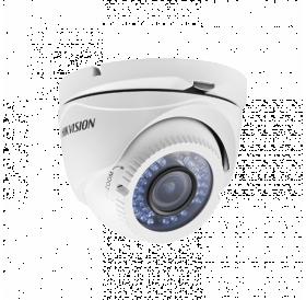 HD-TVI/AHD/CVI/CVBS куполна HIKVISION камера (4 in 1) за видеонаблюдениe