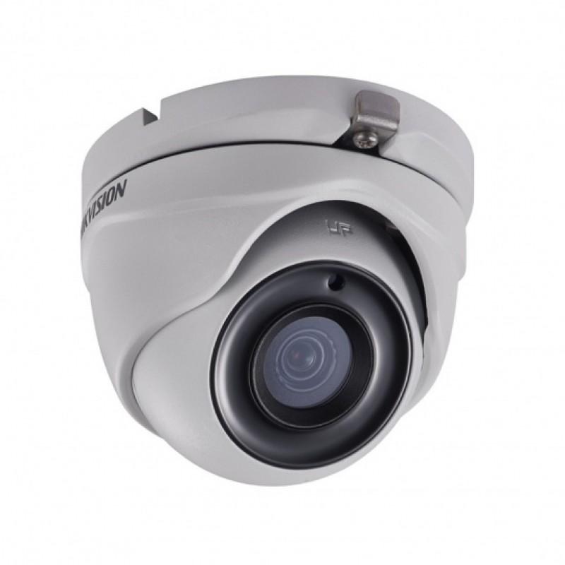 2MPx куполна HD-TVI HIKVISION камера за видеонаблюдение със захранване по коаксиалeн кабел и IR осветление до 20m