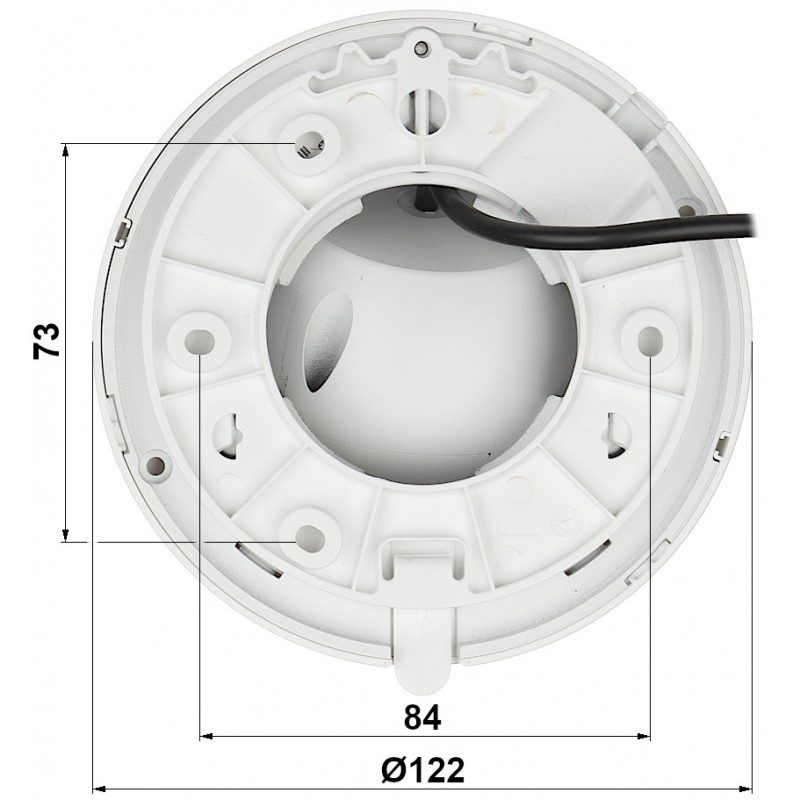 2 Megapixel Starlight True Day & Night  HDCVI водоустойчива 4в1, HAC-HDW1231TMQ-A-0280B