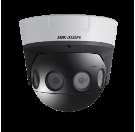 Панорамна 180°, 8.0 мегапикселова мултисензорна куполна IP камера с 4 отделни 2MP камера-модули за видеонаблюдение