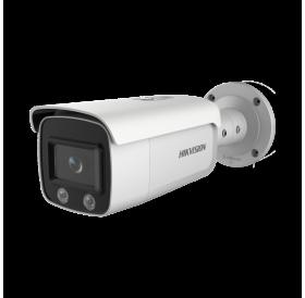 4 MP влагозащитена корпусна ColorVu IP камера за видеонаблюдение DS-2CD2T47G1-L