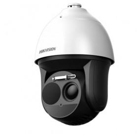 Комбинирана термовизионна/ дневна управляема IP камера за видеонаблюдение DS-2TD4136-25/50/V2