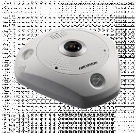 Панорамна 360° 12 мегапикселова куполна IP камера за външен монтаж с Deep Learning алгоритъм