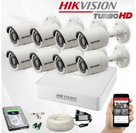 TURBO-HD ГОТОВ КОМПЛЕКТ 8CH HIKVISION