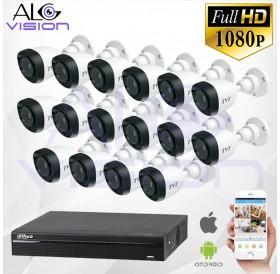 FULL-HD 1080P 16CH КОМПЛЕКТ ЗА ВИДЕОНАБЛЮДЕНИЕ