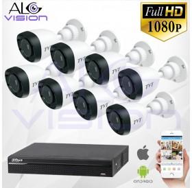 FULL-HD 1080P 8CH КОМПЛЕКТ ЗА ВИДЕОНАБЛЮДЕНИЕ