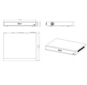 Видеорекордер 16ch Penta-brid XVR8216A-4KL-I