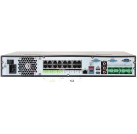 H.265+  32 канален професионален мрежов рекордер с 16 PoE Порта, NVR5432-16P-4KS2E