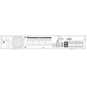 4K мрежов рекордер с 16 PoE NVR5416-16P-4KS2