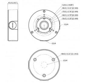 Водоустойчива разпределителна кутия PFA130-E-B