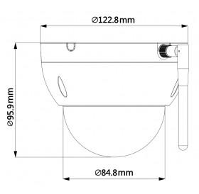 Безжична IP PTZ камера 4 МPixel SD22404T-GN-W