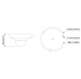 IP Fisheye камера 5 МPixel IPC-EB5531
