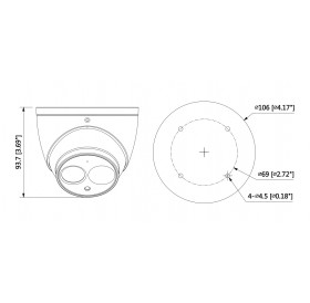 IP камера 4 МPixel IPC-HDW4431EM-ASE-0280B