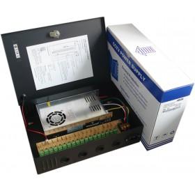 18 канален, 12V/25A захранващ блок  MPS-PTC300-18A