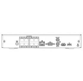 8 канален 4K мрежов рекордер NVR2108HS-8P-4KS2