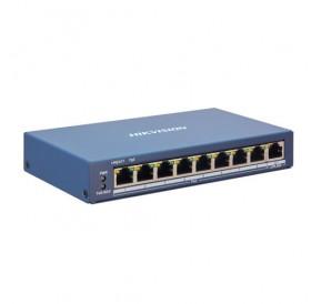 9-портов управляем (smart managed) PoE мрежов комутатор DS-3E1309P-EI