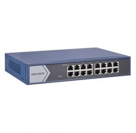 16-портов Gigabit агрегиращ мрежов комутатор DS-3E1516-EI